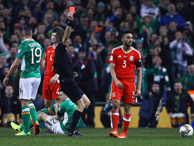 Taylor's tackle on Coleman could end up being very serious for the Irishman (Getty)