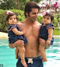 <p>What could be better than one bundle of joy? Two right? Now tell us how cute are Karanvir Bohra's daughters? It's interesting that the twins turn one, as I write about them today – 19 October 2017. Let's take this moment to send our wishes of health and good luck to these rolypoly babies. </p>
