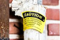 <p>Asbestos is a mineral fiber that can still be found in many older homes. Inhaling tiny asbestos fibers can increase the risk of lung cancer and other lung diseases. Pipe coverings, flooring, shingles and roofs are likely places to find it.</p><p>Check asbestos-containing materials regularly for damage. Don't try to remove asbestos that is already in place; it is best left undisturbed. If the material is damaged, or you plan to remodel, always get professional help.</p>