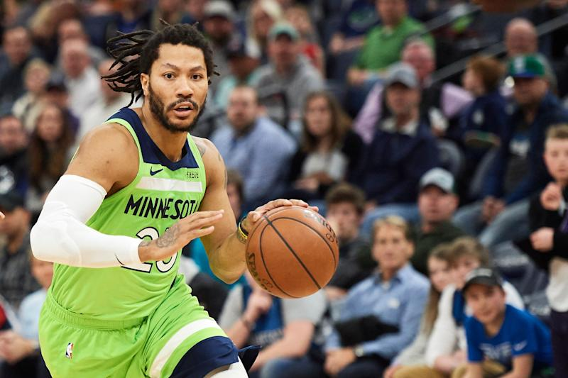 Timberwolves guard Derrick Rose underwent surgery on right elbow 96f9e9439