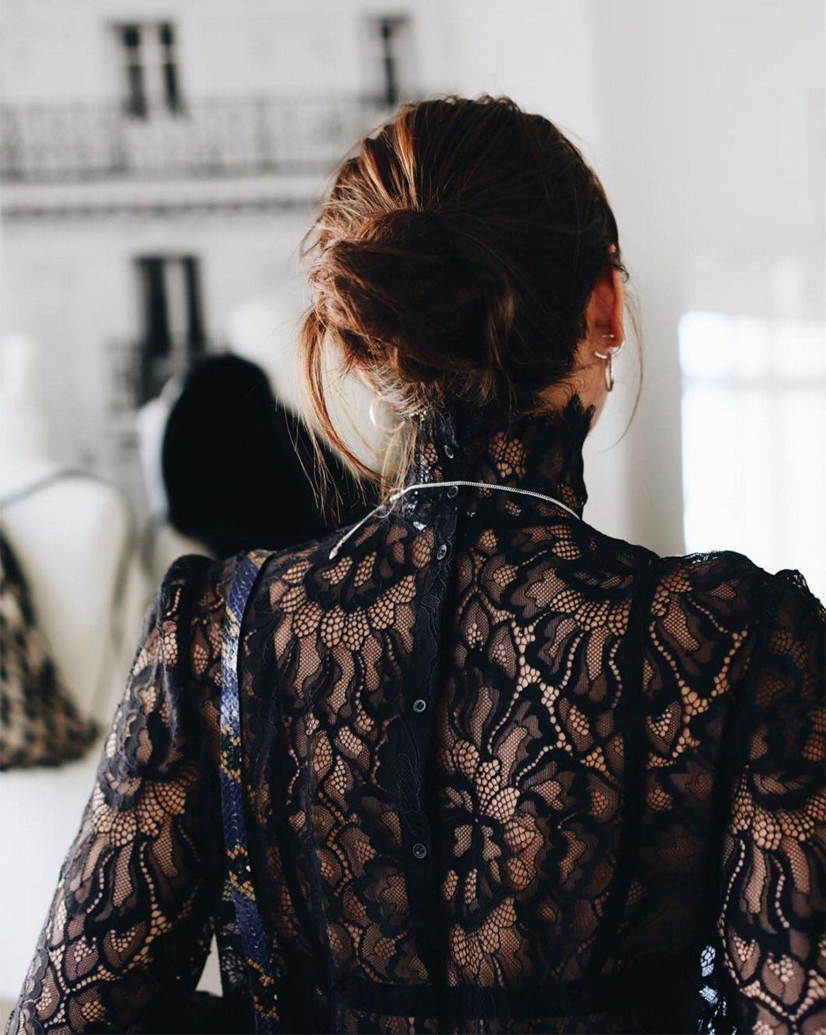 """<p><strong>The Loose Midi</strong></p> <p>If top knots aren't for you and a low chignon feels too mature, try a slightly <span>dishevelled mid bun a la model and singer <a href=""""https://www.instagram.com/natalieoffduty/"""" rel=""""nofollow noopener"""" target=""""_blank"""" data-ylk=""""slk:Natalie Suarez"""" class=""""link rapid-noclick-resp"""">Natalie Suarez</a>.</span></p> <span class=""""copyright"""">Photo: via @natalieoffduty.</span>"""