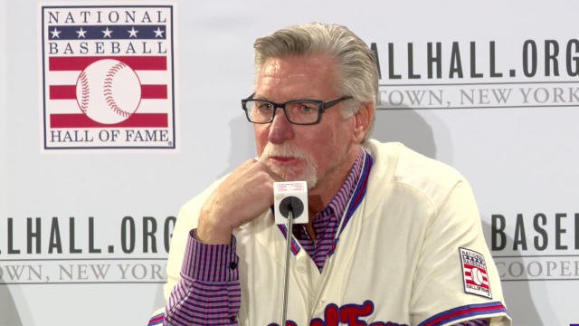 5-time All-Star pitcher Jack Morris speaks to the media after being voted into the Baseball Hall of Fame by the Modern Era committee