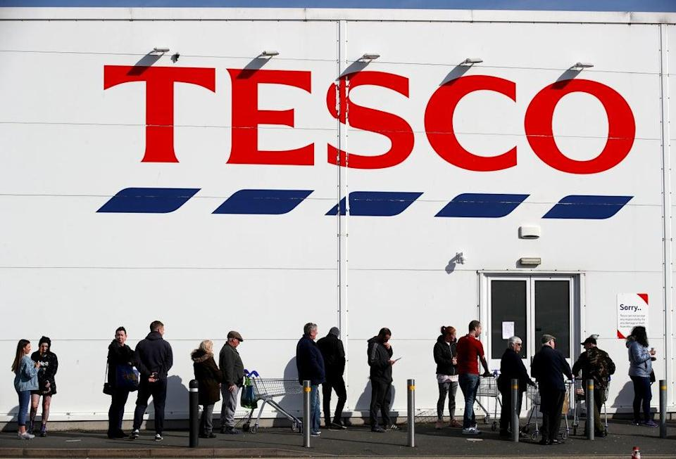 Tesco has hailed strong sales over the past half year (Nick Potts/PA) (PA Archive)