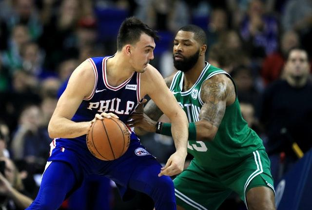 Philadelphia 76ers and Boston Celtics are among the teams that will be back in action at the Walt Disney World Resort. (Simon Cooper/PA).