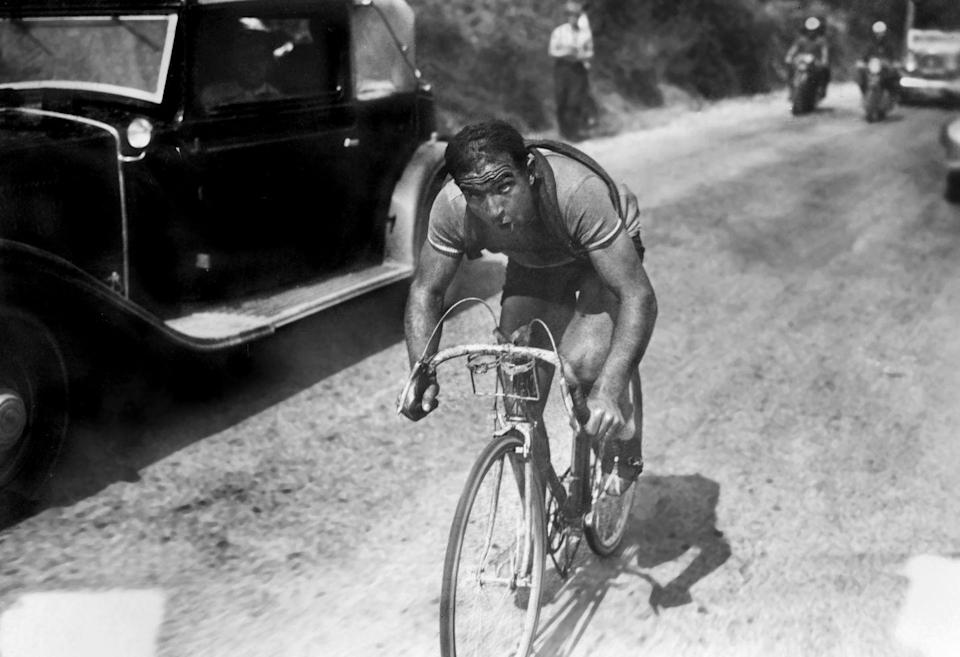 <p>Between 1930 and 1961, the Tour was contested by national teams, not trade teams. Italian Gino Bartali, one of the great <em>campionissimos</em> of Italian cycling, was in firm control of the 1937 Tour when he crashed on Stage 9 and lost 22 minutes, ceding the yellow jersey to defending champion Sylvère Maes. Bartali was forced to drop out three days later.</p><p>With his chief rival out of the race, Maes and the powerhouse Belgian team looked like a lock for the win. They won three straight stages including a team time trial on Stage 11B to solidify Maes's lead over Frenchman Roger Lapébie.</p><p>Then things began to fall apart. The partisan French organizers, looking to blunt the strength of the Belgian team, changed the format of several stages from team time trials to mass-starts. In the Pyrenees, French fans pushed Lapébie up the climbs. (Although 1937 was the first year the Tour allowed derailleurs, the devices were still pretty crude and many riders had to walk steeper sections of climbs, which were often unpaved.) Decades later, Tour official and eventual race director Felix Lévitan would confess that even he had given Lapébie a helping hand.</p><p>But the dam broke on Stage 16. Maes flatted and was penalized after teammates waited to help him chase. Lapébie went through a railroad crossing just before an approaching train, while Maes, chasing close behind, was not.</p><p>Furious, Maes and the entire Belgian team quit the race. Without the Belgians, Lapébie's only real competition was the Bartali-less Italian team, and it was no contest. He would win two stages over the reduced field in the final days and carry yellow to Paris with the third-smallest margin (7:17) of the pre-WWII Tours.</p>