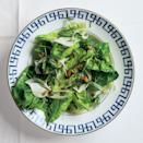 """This salad has vibrant greens, handfuls of fresh herbs, nuts for crunch, and horseradish for bite. <a href=""""https://www.epicurious.com/recipes/food/views/herb-salad-with-pistachios-fennel-and-horseradish-51255270?mbid=synd_yahoo_rss"""" rel=""""nofollow noopener"""" target=""""_blank"""" data-ylk=""""slk:See recipe."""" class=""""link rapid-noclick-resp"""">See recipe.</a>"""