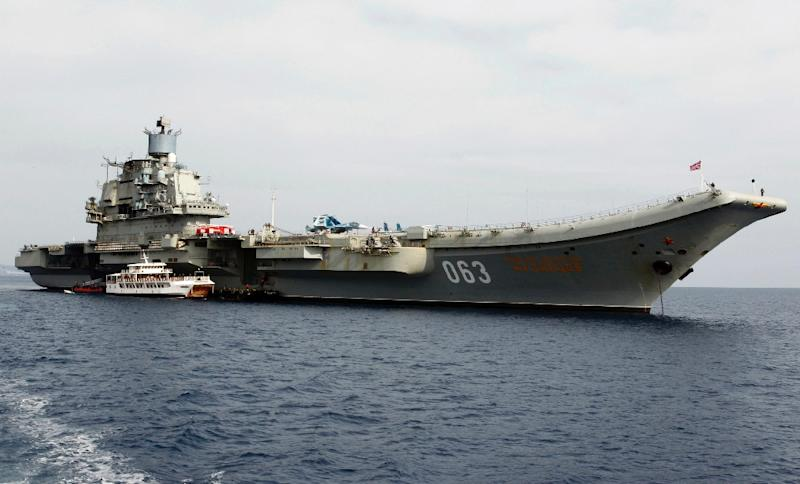 The Charles De Gaulle Aircraft Carrier Rfi Sami Boukhelifa
