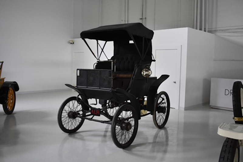 Late 19th Century Fully Electric Riker Up for Auction in California
