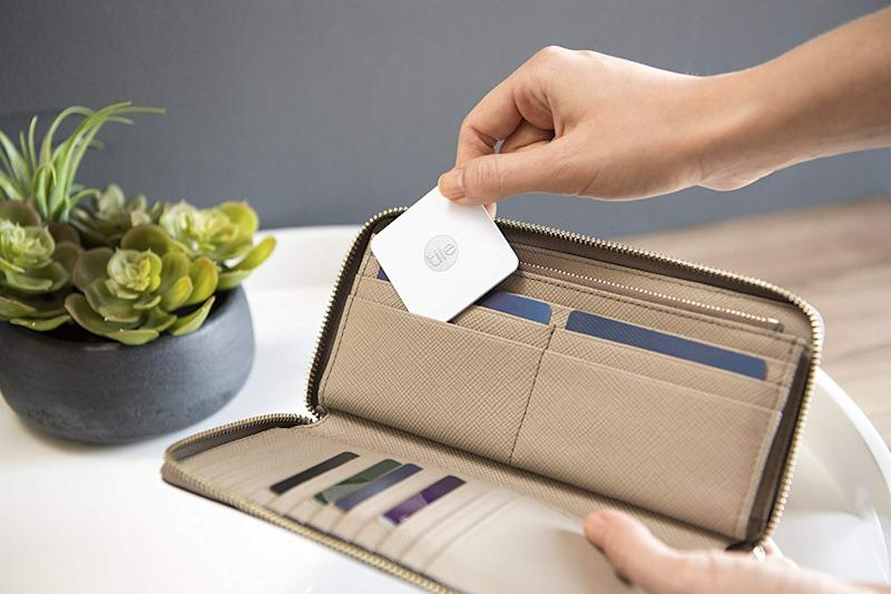 The Tile Slim slips right into your wallet. (Photo: Amazon)