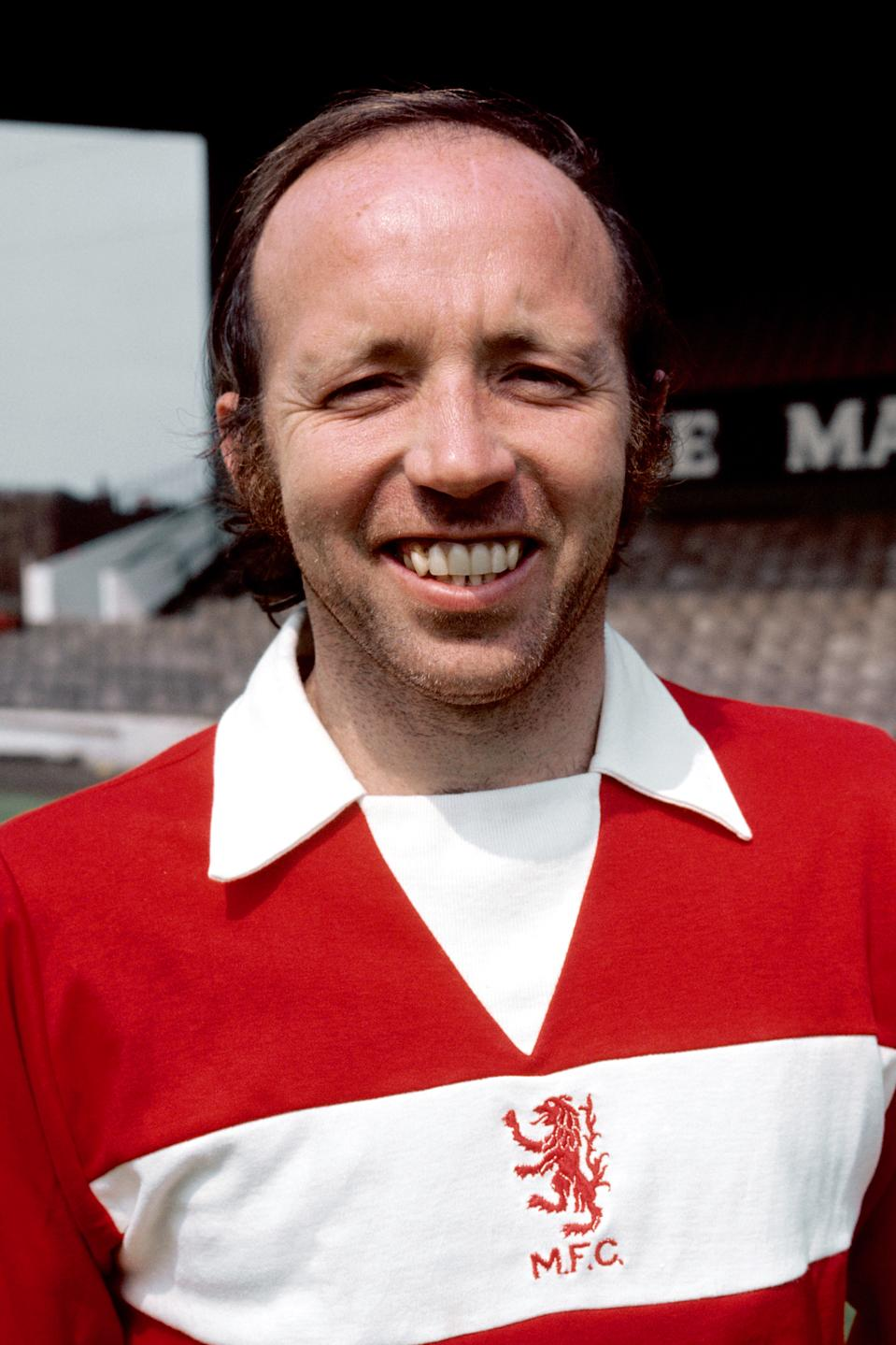 Nobby Stiles, Middlesbrough (Photo by PA Images via Getty Images)