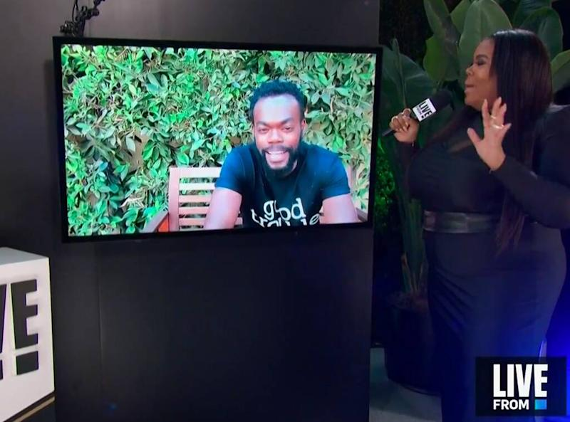 William Jackson Harper, Emmys 2020, Emmy Awards, E! Live from the Red Carpet