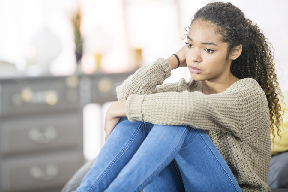The effects of COVID-19 and systemic racism have taken a mental toll on the Black community. (Getty Images)