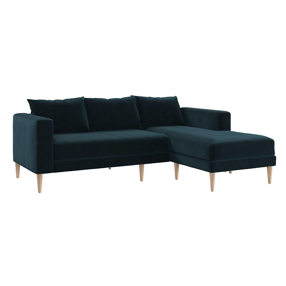 "<p><a class=""link rapid-noclick-resp"" href=""https://go.redirectingat.com?id=74968X1596630&url=https%3A%2F%2Fsabai.design%2Fcollections%2Fseating%2Fproducts%2Fthe-essential-sectional-last%3Fvariant%3D36051528384672&sref=https%3A%2F%2Fwww.redbookmag.com%2Fhome%2Fg35362432%2Fbest-online-furniture-stores-websites%2F"" rel=""nofollow noopener"" target=""_blank"" data-ylk=""slk:BUY NOW"">BUY NOW</a></p><p><strong>The Essential Sectional, <em>$1,395</em></strong></p><p>A newcomer on the market, <a href=""https://go.redirectingat.com?id=74968X1596630&url=https%3A%2F%2Fsabai.design%2F&sref=https%3A%2F%2Fwww.redbookmag.com%2Fhome%2Fg35362432%2Fbest-online-furniture-stores-websites%2F"" rel=""nofollow noopener"" target=""_blank"" data-ylk=""slk:Sabai"" class=""link rapid-noclick-resp"">Sabai</a> has a small selection for now—notably, a sofa, a sectional, and an ottoman, all of which coordinate with each other and come in multiple colors. Sabai's furniture is made sustainably, using fabrics that are made from recycled fibers and water bottles, and it's all produced in High Point, North Carolina. Pieces are even shipped in recycled boxed without plastic, too. </p>"