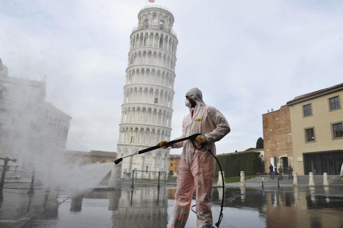 Italy Continues Nationwide Lockdown To Control Coronavirus Spread