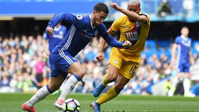 <p>The brilliant Belgian is back to his best. There is nobody better in the Premier League when dribbling at defenders. Hazard has been tormenting defences at will this season, and even managed to turn Francis Coquelin into a beyblade when scoring a stunning solo effort against Arsenal. </p> <br><p>With eleven goals and five assists he is realistically the only challenger to N'Golo Kante for Player of the Year.</p>
