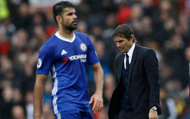 Diego Costa's form has suffered since the turn of the year - REUTERS