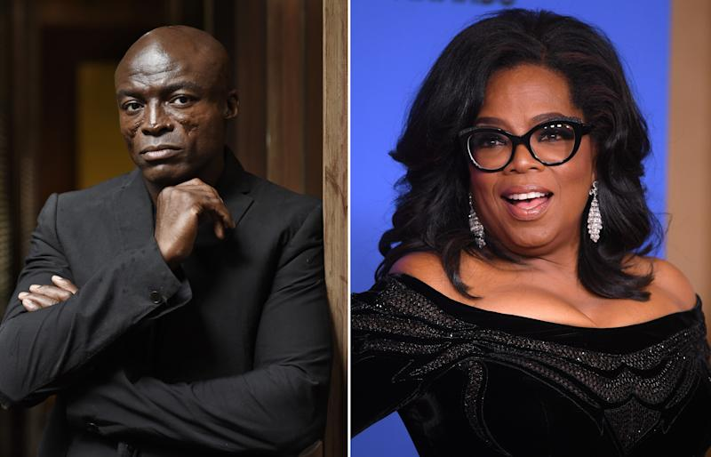 Seal blasts Oprah over claims she didn't know about Harvey Weinstein allegations