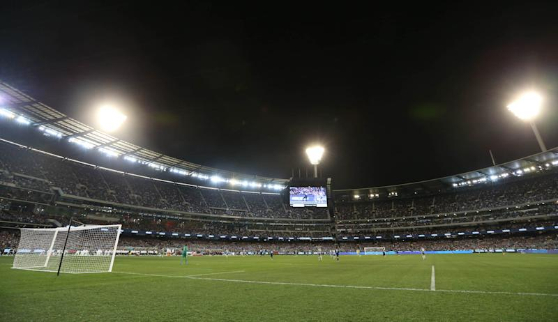 Football - Real Madrid v Manchester City - International Champions Cup Pre Season Friendly Tournament - MCG, Melbourne, Australia - 24/7/15 General view during the match Action Images via Reuters / Jason O'Brien Livepic