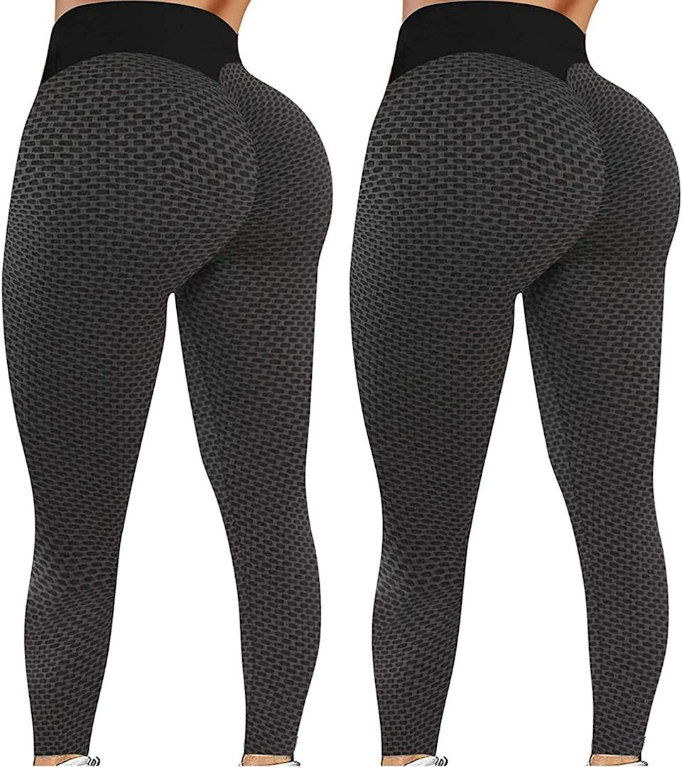 <p>These <span>2 Pack Butt Lift Leggings for Women</span> ($17) went viral on TikTok for making everyone's butt look lifted and plump!</p>