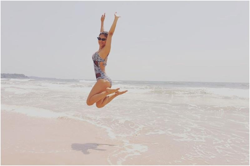 Mouni Roy Spends Valentine's Day Snorkeling in the Sea and Lazing on the Beach in Maldives
