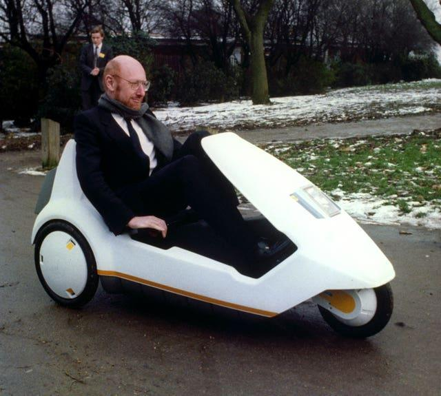 Science and Technology – Sir Clive Sinclair – C5 – Alexandra Palace, London