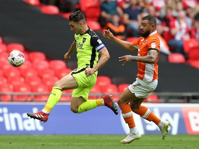 Brad Potts and Mark Cullen secure Blackpool's return to League One at first time of asking
