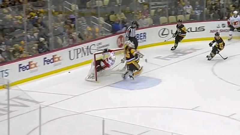 Milan Lucic found the back of the net. (NHL Live)