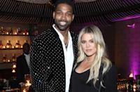 """In perhaps the most dramatic breakup of the year, Kardashian and Thompson have ended their relationship amid reports he cheated on her with Kylie Jenner's best friend, Jordyn Woods. Read all the <a href=""""https://www.glamour.com/story/khloe-kardashian-tristan-thompson-break-up?mbid=synd_yahoo_rss"""" rel=""""nofollow noopener"""" target=""""_blank"""" data-ylk=""""slk:details here."""" class=""""link rapid-noclick-resp"""">details here.</a>"""