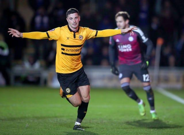 Newport County v Leicester City – Emirates FA Cup – Third Round – Rodney Parade
