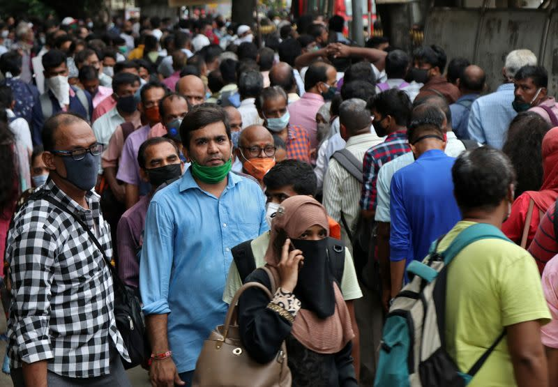 India reports over 94,000 new coronavirus cases, over 1,000 more deaths