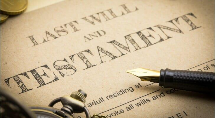 A last will and testament