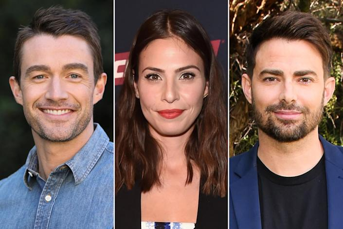 """<p><strong>Premieres:</strong> Dec. 18 at 8 p.m. ET/PT, Hallmark Channel</p> <p><strong>Stars:</strong> Robert Buckley, Ana Ayora, Jonathan Bennett, Sharon Lawrence, Treat Williams, Brad Harder </p> <p><strong>Contains:</strong> Brotherly competition, decoration montages</p> <p><strong>Official description:</strong> """"The Mitchell brothers compete to see who can create the best Christmas House.""""</p>"""