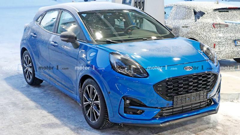 Ford Puma ST Spy Photos