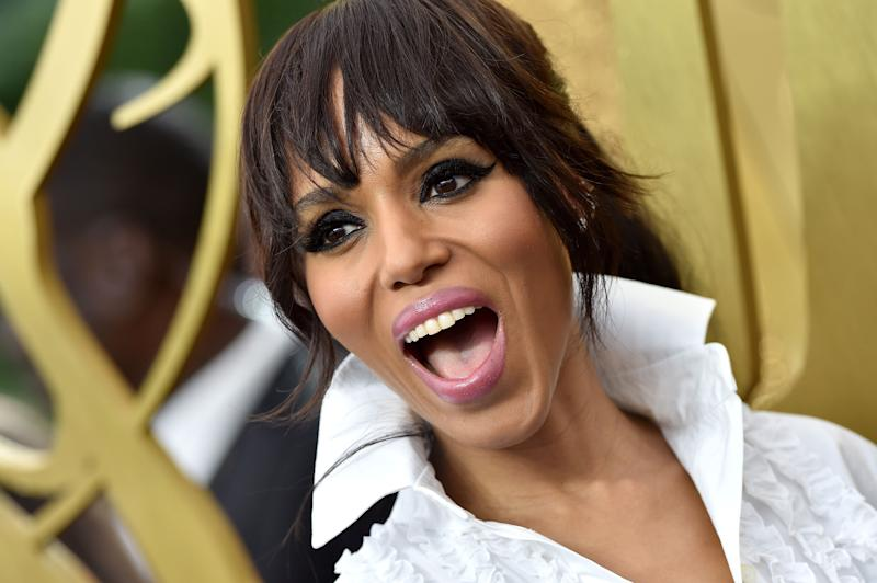 Kerry Washington is officially an Emmy winner! (Photo: Axelle/Bauer-Griffin via Getty Images)