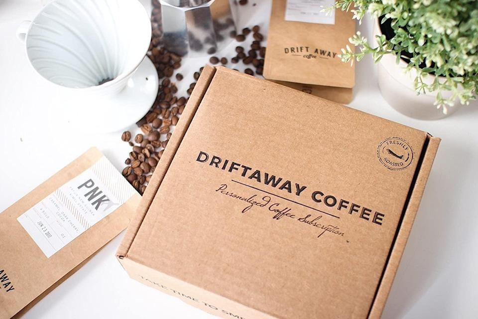 "International travel might be difficult now, but sampling coffee from around the world doesn't have to be. Driftaway's subscription boxes send a monthly selection of single-origin beans—from the likes of Guatemala, Ethiopia, <a href=""https://www.cntraveler.com/gallery/where-to-go-in-brazil-beyond-rio?mbid=synd_yahoo_rss"" rel=""nofollow noopener"" target=""_blank"" data-ylk=""slk:Brazil"" class=""link rapid-noclick-resp"">Brazil</a>, and Uganda—right to your doorstep. To start, members are sent a tasting kit in order to identify their favorite types of roasts and customize their boxes. And the selection is definitely a step above grocery store blends: All of Driftaway's coffee is purchased from small-batch farmers around the world, and each box includes information on the story of the farmer who grew that month's beans. $102, Driftaway Coffee (Starting price). <a href=""https://driftaway.coffee/"" rel=""nofollow noopener"" target=""_blank"" data-ylk=""slk:Get it now!"" class=""link rapid-noclick-resp"">Get it now!</a>"