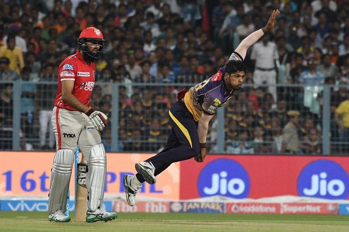 IPL 10: Umesh four-for helps KKR restrict Kings XI to 170/9