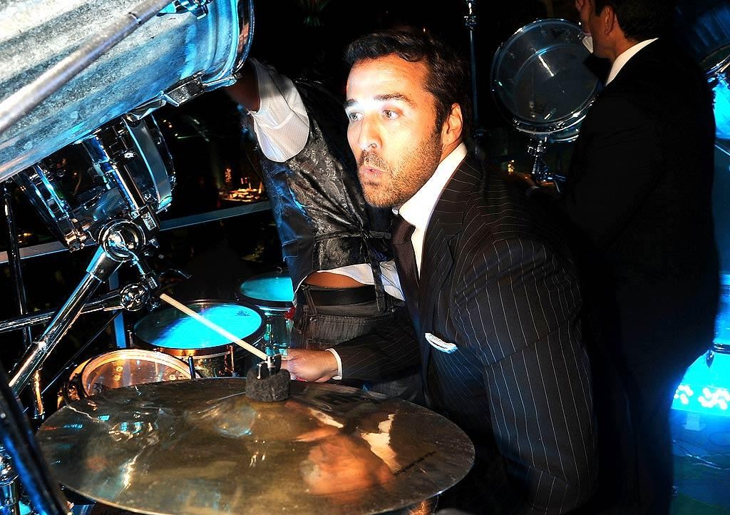 "Piven impressed the crowd with his drumming skills at the HBO party. Jeff Kravitz/<a href=""http://www.filmmagic.com/"" target=""new"">FilmMagic.com</a> - September 21, 2008"
