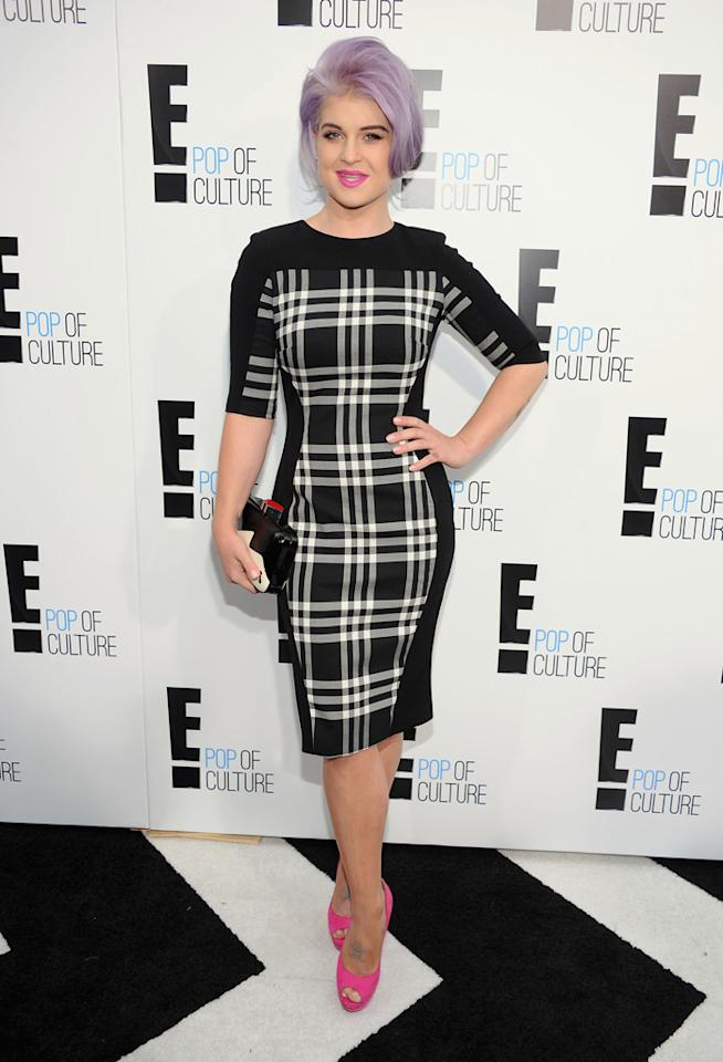 "Kelly Osbourne (""<a href=""http://tv.yahoo.com/fashion-police/show/46717"">Fashion Police</a>"") attends E!'s 2012 Upfront event at Gotham Hall on April 30, 2012 in New York City."