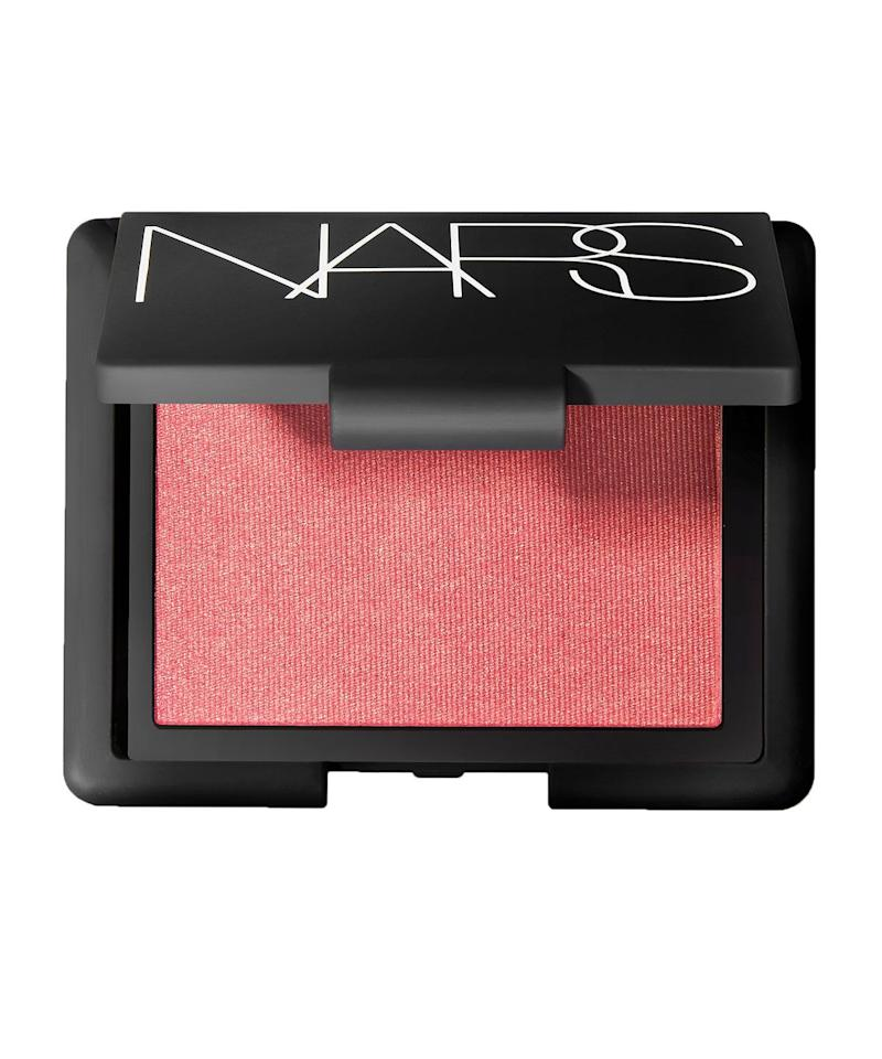 "<p>This pink is perfectly balanced to bring out the radiance in every skin tone while the delicate gold flecks (don't worry, it won't appear shiny once applied) keeps it from looking flat. The lightest touch makes skin appear just a little brighter.</p><p>Here is a blush that works for almost all makeup looks, on all skin tones. No wonder one blush is reportedly sold every minute! </p><p><a class=""body-btn-link"" href=""https://go.redirectingat.com?id=127X1599956&url=https%3A%2F%2Fwww.cultbeauty.co.uk%2Fnars-blush.html%3Fvariant_id%3D17372&sref=https%3A%2F%2Fwww.goodhousekeeping.com%2Fuk%2Ffashion-beauty%2Fmake-up-advice%2Fg33009802%2Fnars-orgasm%2F"" target=""_blank"">BUY NOW</a> </p>"