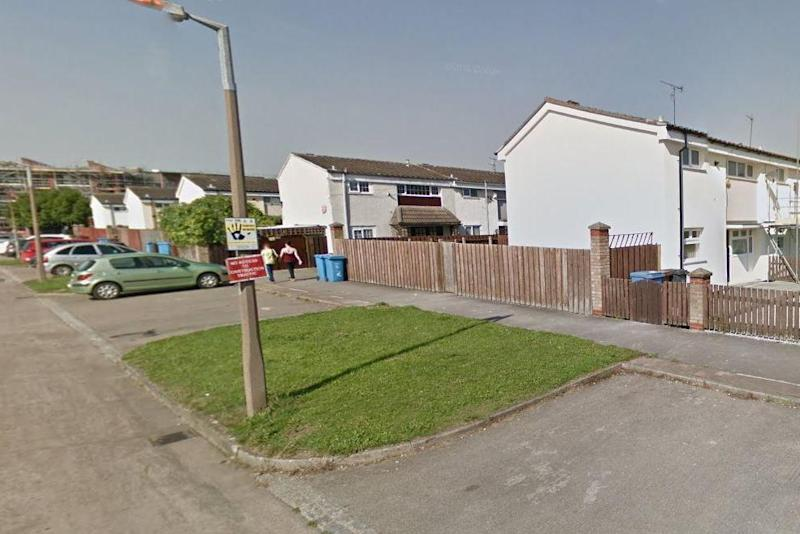 Scene: the man was chased by a group of men to a house on Laxthorpe in Hull: Google Maps