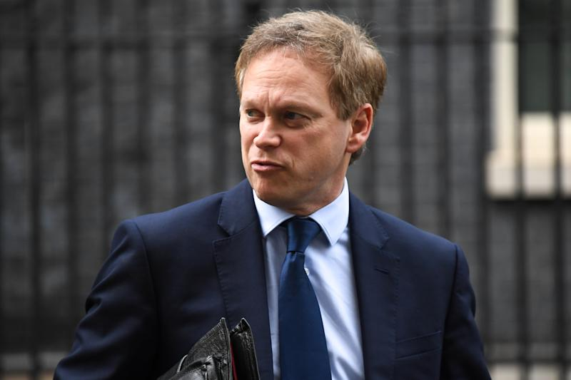 Transport Secretary Grant Shapps leaves Downing Street following a cabinet meeting on March 17, 2020 in London, England. Boris Johnson held the first of his public daily briefings on the Coronavirus outbreak yesterday and told the public to avoid theatres and pubs and to work from home where possible. The number of people infected with COVID-19 in the UK has passed 1500 with 55 deaths. (Photo by Alberto Pezzali/NurPhoto via Getty Images)