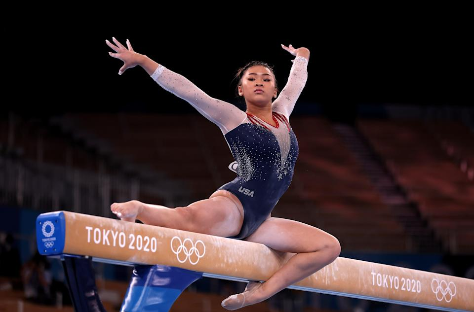 Sunisa Lee took gold for Team USA (Getty Images)