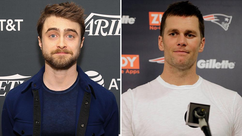 6a0a6c505d3f6 Daniel Radcliffe Has a Message for Trump Supporter Tom Brady