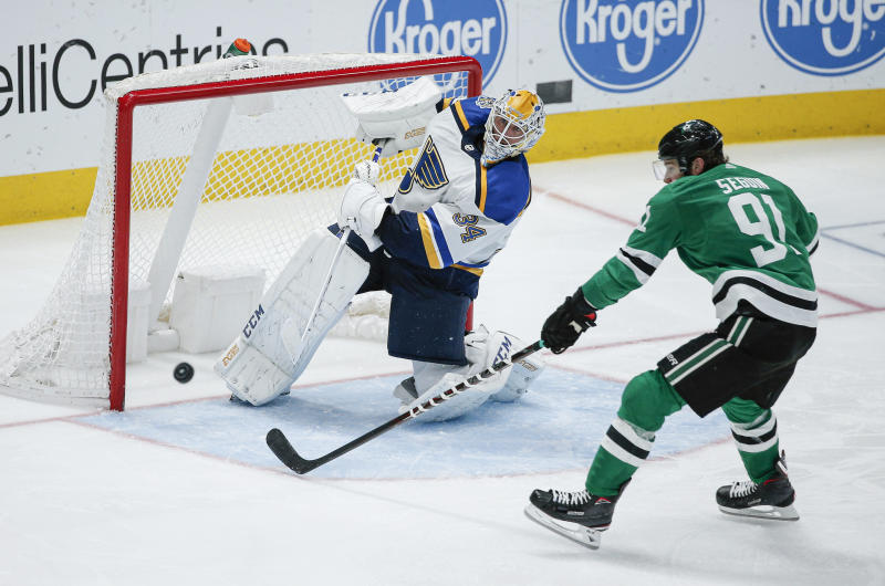 O'Reilly's goal lifts Blues to 3-1 win over Stars