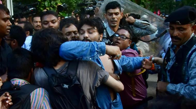 JU row, Jadavpur University row, Babul Supriyo Jadavpur University, Babul Supriyo JU row, Kolkata news, city news, Indian Express
