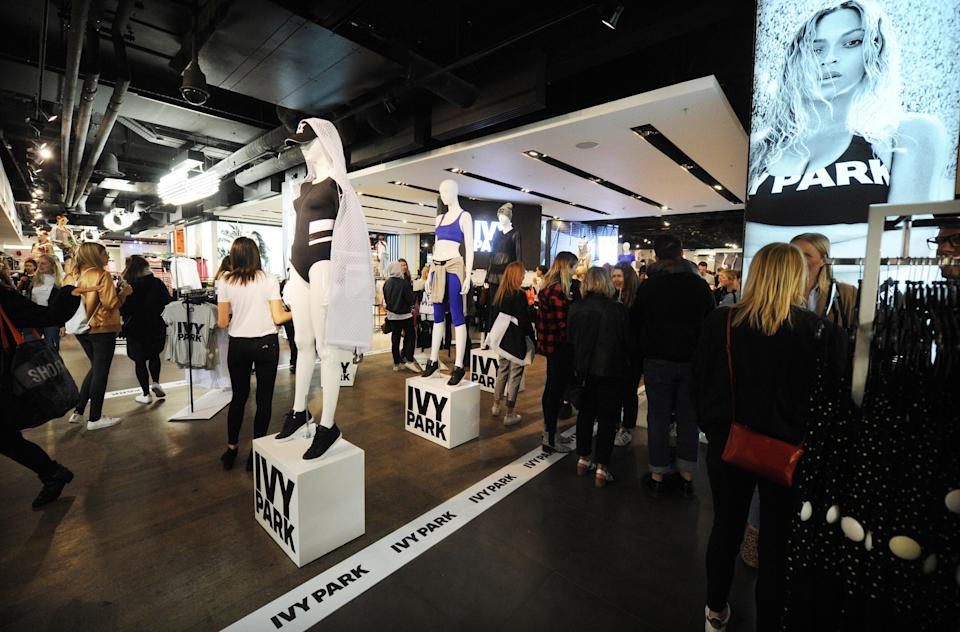 Beyoncé launched Ivy Park with Topshop owner Sir Philip Green in 2016. (Photo: Getty Images)