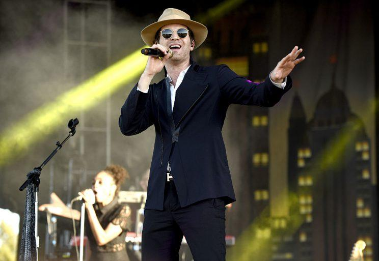 NEW ORLEANS, LA - OCTOBER 28: Mayer Hawthorne performs during the Voodoo Music + Arts Experience at City Park on October 28, 2016 in New Orleans, Louisiana. (Photo by Tim Mosenfelder/Getty Images)