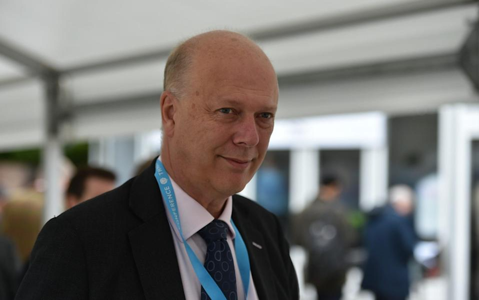Chris Grayling, a Cabinet minister under Theresa May - Chris Grayling, a Cabinet minister under Theresa May