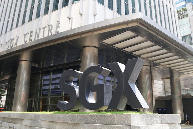 SGX building located at Shenton Way on 3 May 2018 (PHOTO: Abdul Rahman Azhari/Yahoo News Singapore)