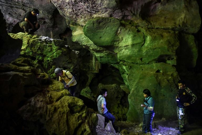 Cave raiders: Thai archaeologists hunt ancient artwork